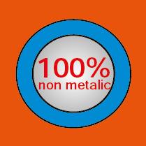 100% METAL FREE